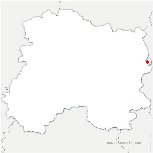 carte de localisation de Éclaires