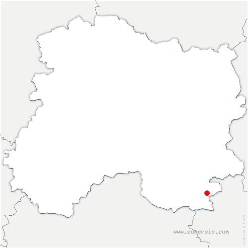 carte de localisation de Écollemont