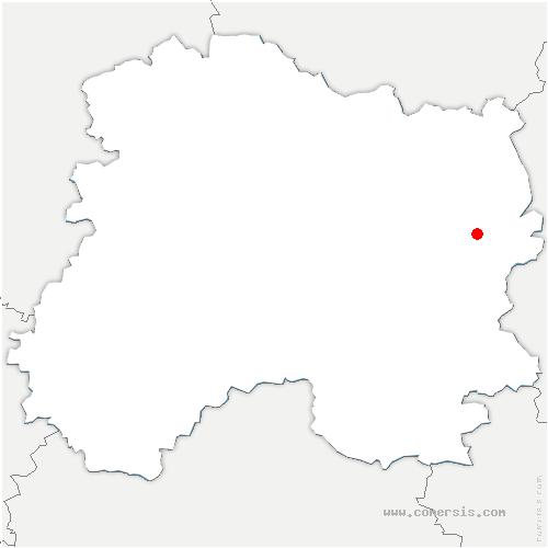 carte de localisation de Épense