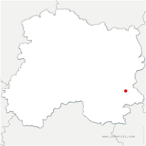 carte de localisation de Étrepy
