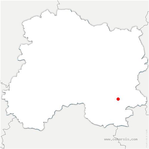 carte de localisation de Favresse