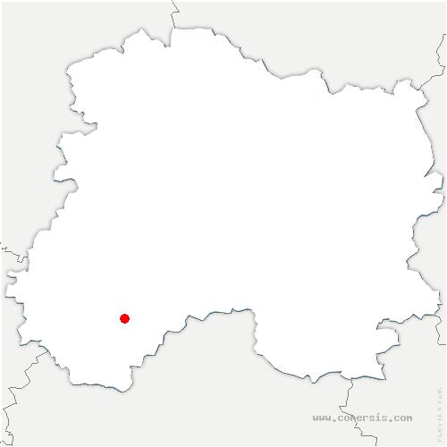 carte de localisation de Gaye