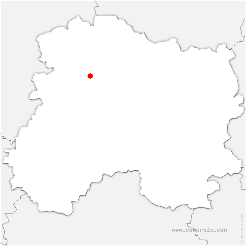 carte de localisation de Germaine