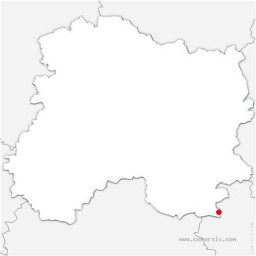 carte de localisation de Giffaumont-Champaubert