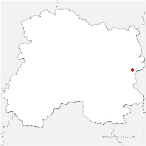 carte de localisation de Givry-en-Argonne