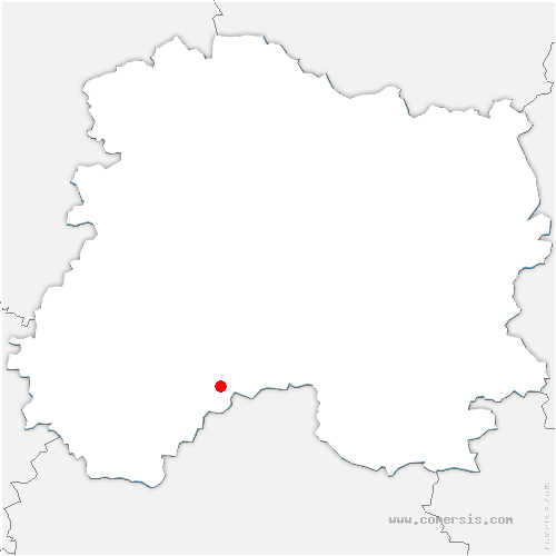 carte de localisation de Gourgançon