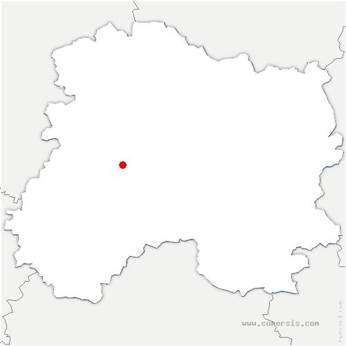 carte de localisation de Grauves