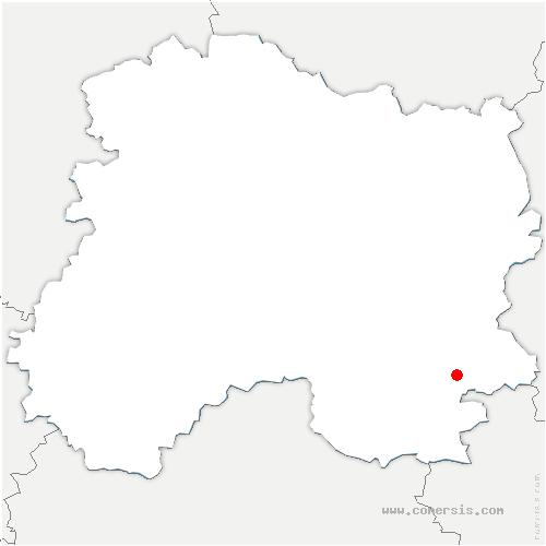 carte de localisation de Haussignémont