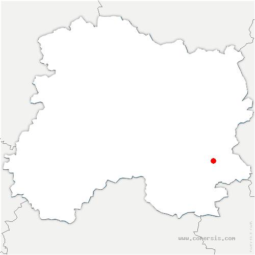 carte de localisation de Heiltz-l'Évêque