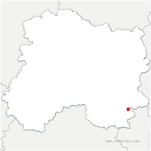 carte de localisation de Heiltz-le-Hutier