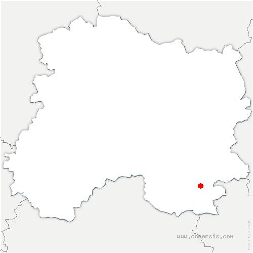 carte de localisation de Isle-sur-Marne