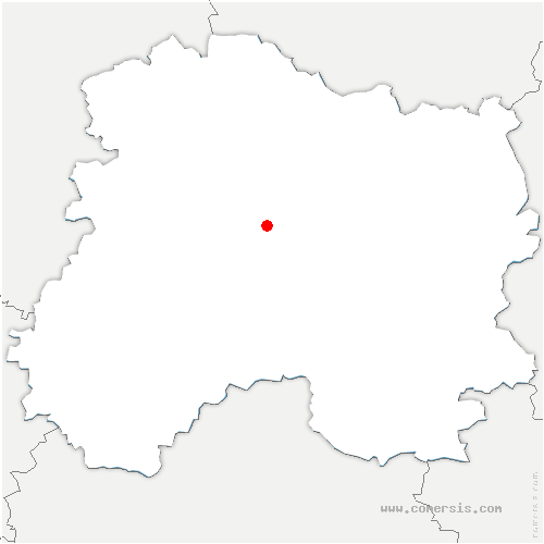 carte de localisation de Jâlons