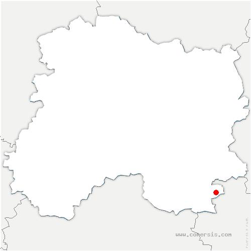 carte de localisation de Landricourt