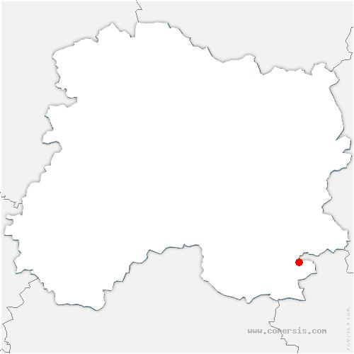 carte de localisation de Larzicourt