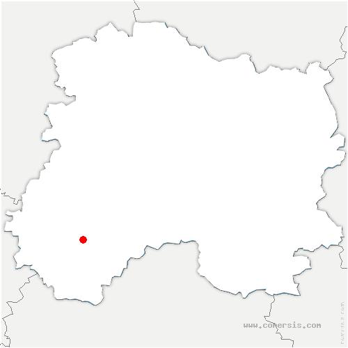 carte de localisation de Linthelles