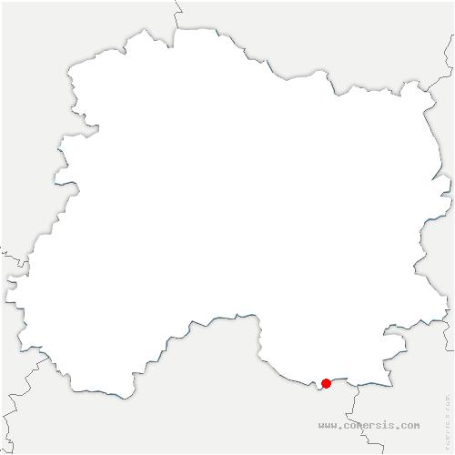 carte de localisation de Margerie-Hancourt