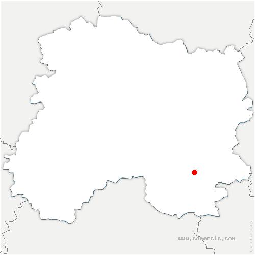 carte de localisation de Marolles