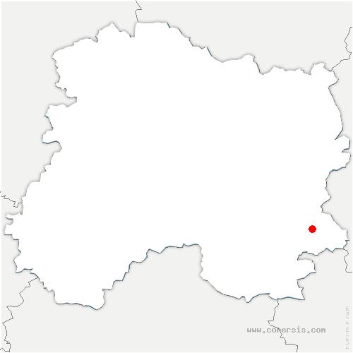 carte de localisation de Maurupt-le-Montois