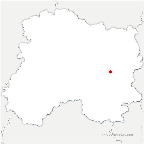 carte de localisation de Moivre