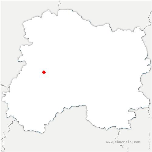 carte de localisation de Morangis