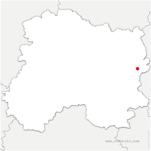 carte de localisation de Neuville-aux-Bois