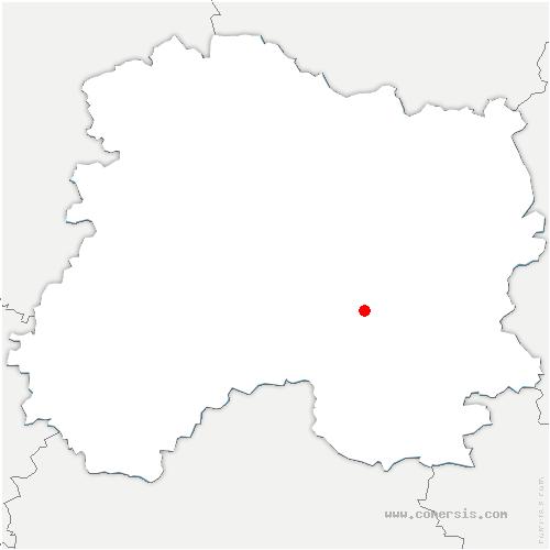 carte de localisation de Omey