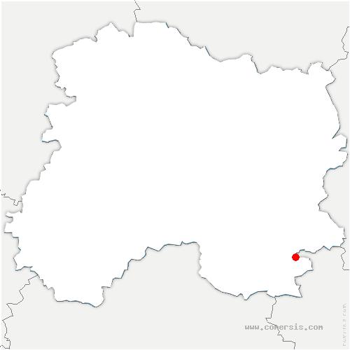 carte de localisation de Orconte