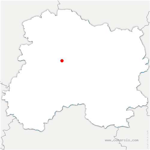 carte de localisation de Plivot