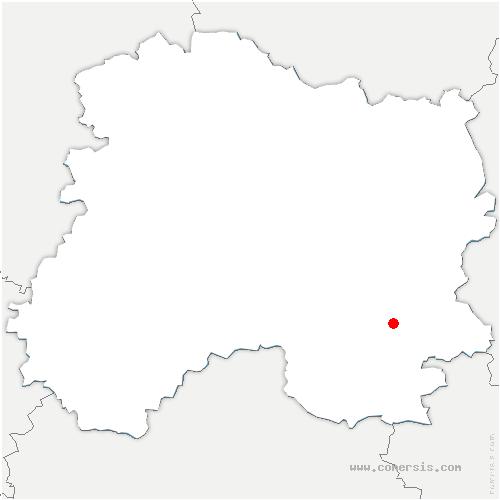 carte de localisation de Ponthion
