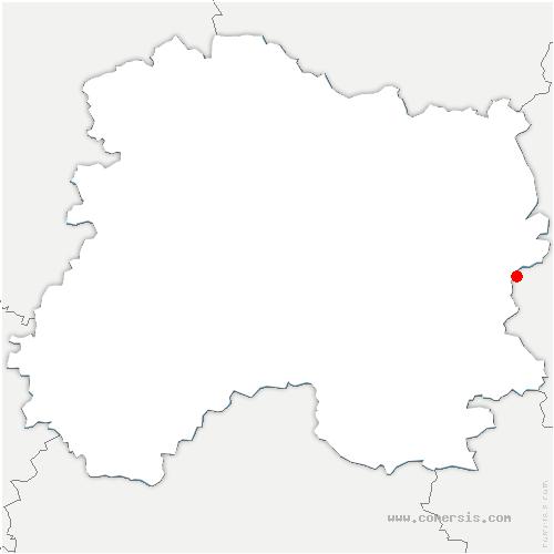 carte de localisation de Possesse