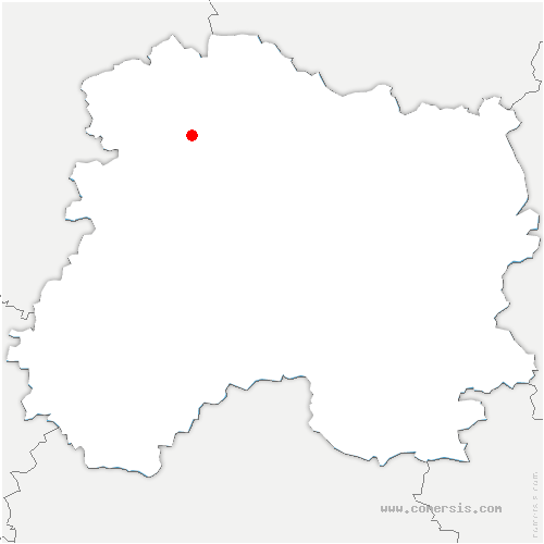 carte de localisation de Sacy