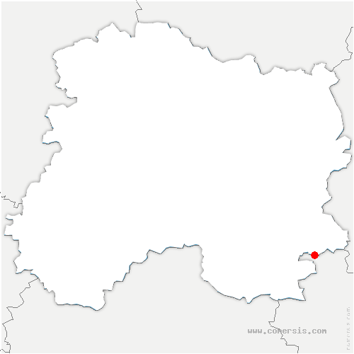 carte de localisation de Saint-Eulien