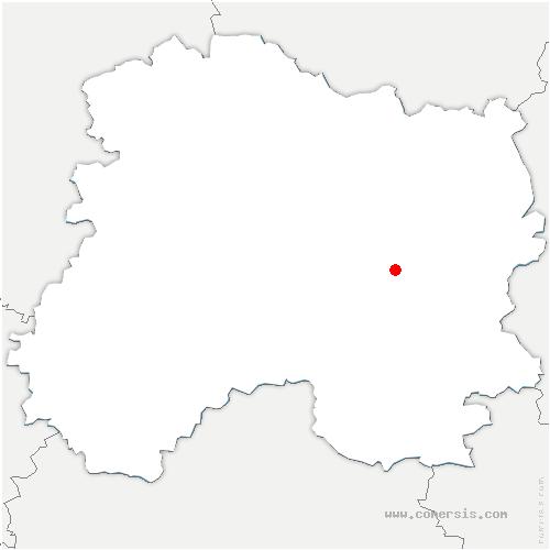 carte de localisation de Saint-Jean-sur-Moivre