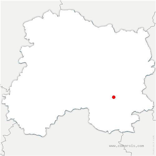 carte de localisation de Saint-Lumier-en-Champagne