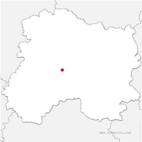carte de localisation de Saint-Mard-lès-Rouffy