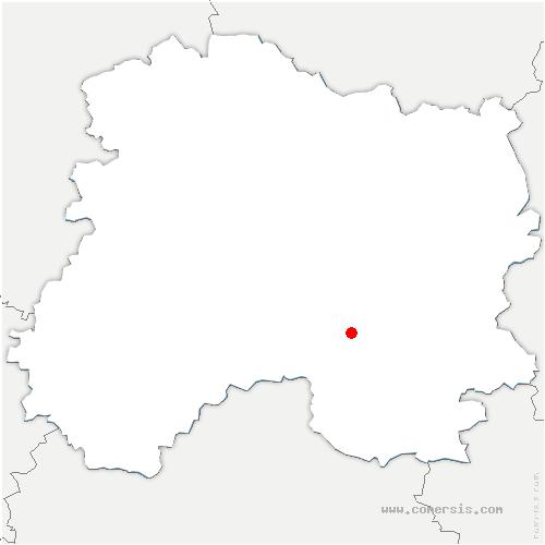 carte de localisation de Saint-Martin-aux-Champs