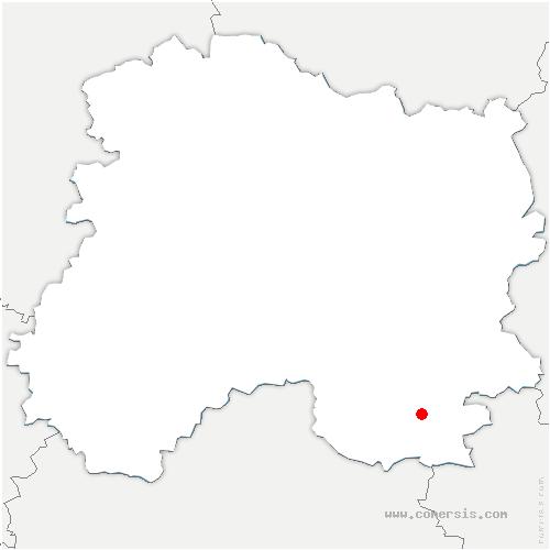 carte de localisation de Saint-Remy-en-Bouzemont-Saint-Genest-et-Isson