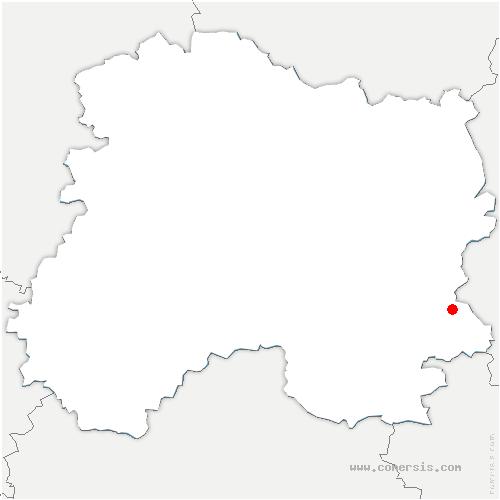 carte de localisation de Sermaize-les-Bains