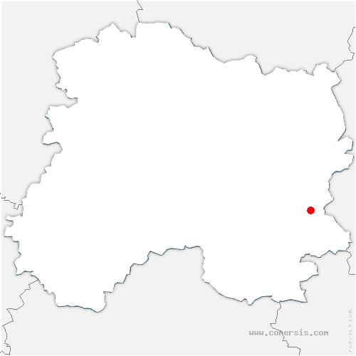 carte de localisation de Sogny-en-l'Angle