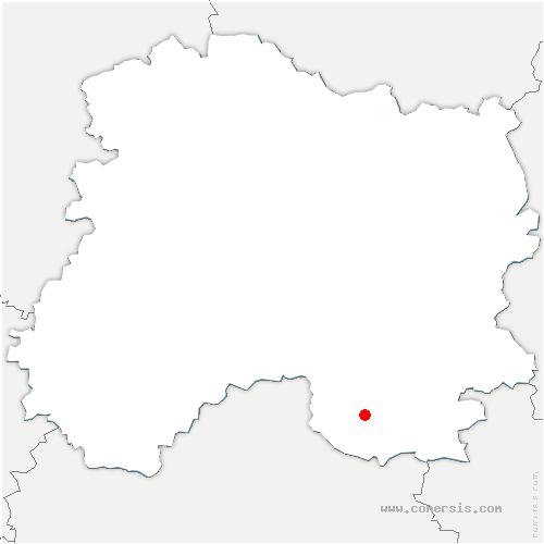 carte de localisation de Somsois