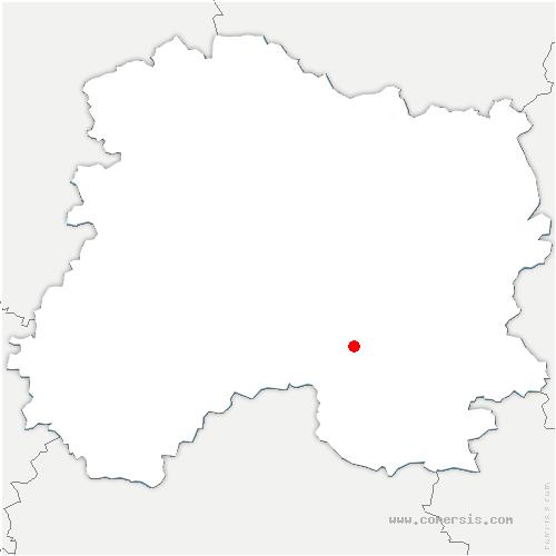 carte de localisation de Songy