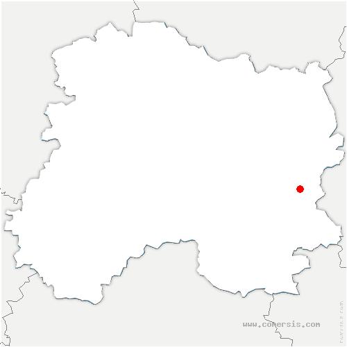 carte de localisation de Vernancourt