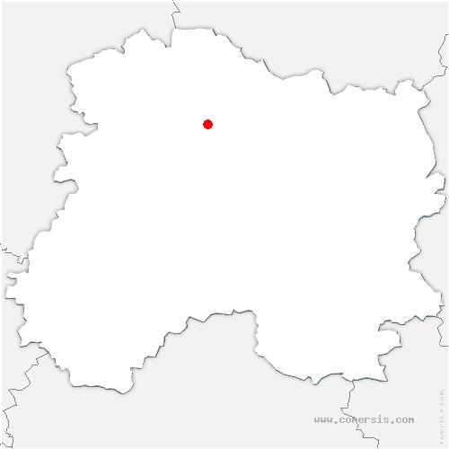carte de localisation de Verzy