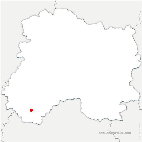 carte de localisation de Villeneuve-Saint-Vistre-et-Villevotte