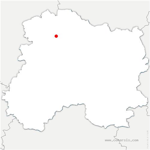 carte de localisation de Villers-aux-Nœuds