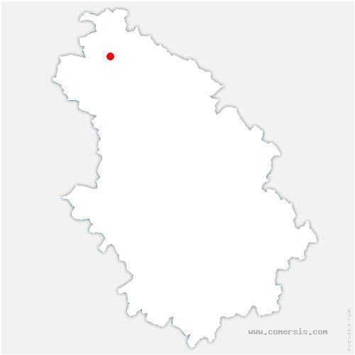 carte de localisation de Attancourt