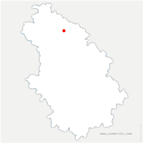 carte de localisation de Autigny-le-Grand