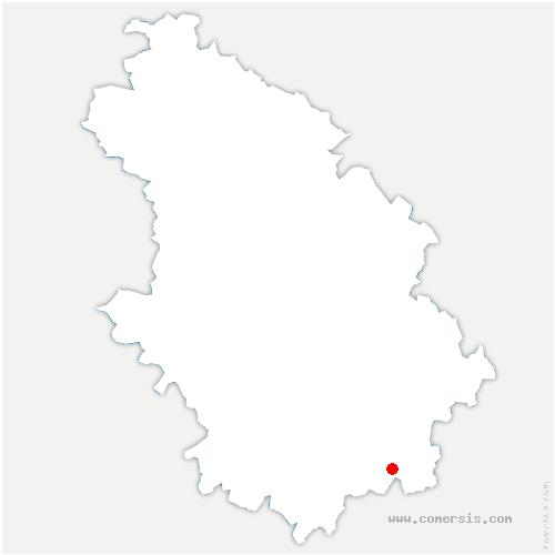 carte de localisation de Belmont