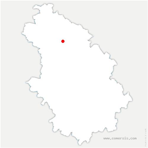carte de localisation de Blécourt