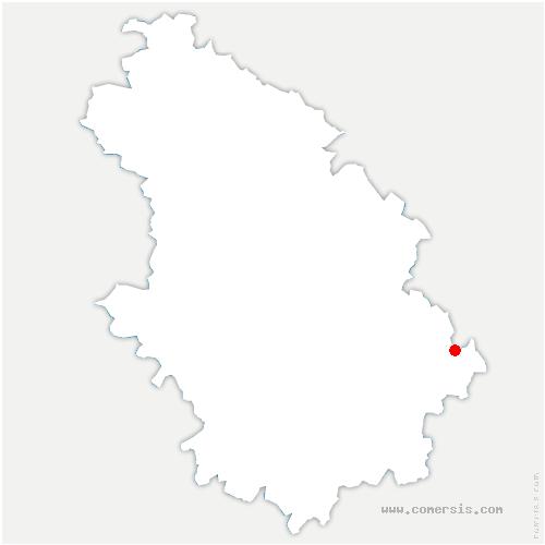 carte de localisation de Bourbonne-les-Bains